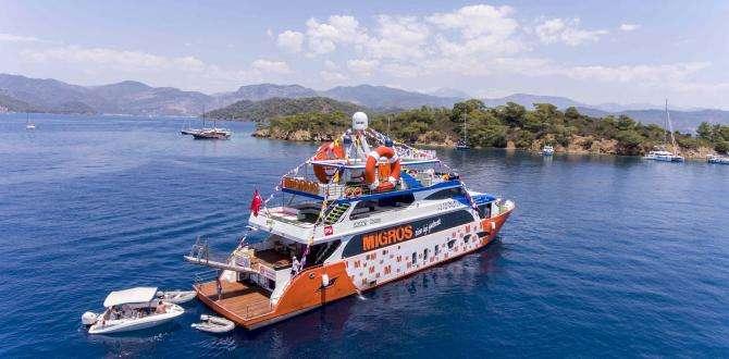 """Migros, Tam Donanımlı Yüzen Mağazası """"Migros Deniz Market"""" ile Müşterilerine Denizde de Hizmet Sunuyor!"""