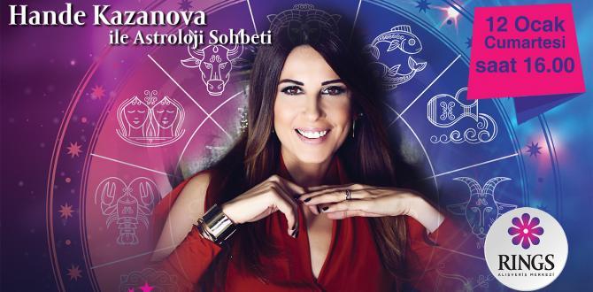 Hande Kazanova ile Astroloji Sohbeti Rings AVM'de