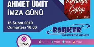 Ahmet Ümit Rings AVM'de Okurlarıyla Buluşuyor
