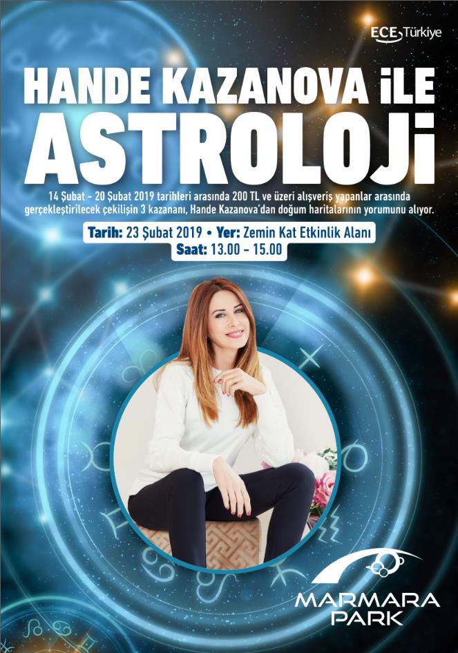 Unlu Astrolog Hande Kazanova 2019 Yildiz Haritasini Yorumluyor Mall Motto