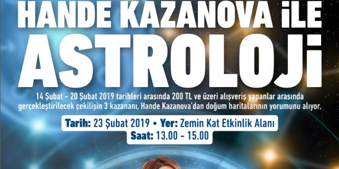 ÜNLÜ ASTROLOG HANDE KAZANOVA 2019 YILDIZ HARİTASINI YORUMLUYOR