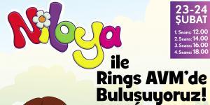 Niloya Rings AVM'de Küçük Hayranlarıyla Buluşuyor!