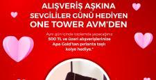 Alışveriş Aşkına Sevgililer Günü Hediyen One Tower Avm'den
