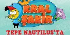 Kral Şakir Tepe Nautilus'ta Çocuklarla Buluşuyor!