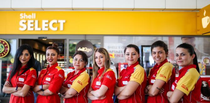 Shell & Turcas, İŞKUR iş birliği ile 1 yılda 1044 kadına istihdam sağladı