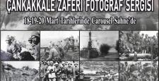Carousel, Çanakkale Zaferinin 104. Yıldönümünü Fotoğraf Sergisi ve Fotoğraf Çekim Alanı İle Anıyor…
