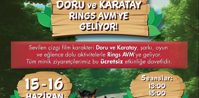 Doru ve Karatay Rings AVM'ye Geliyor!