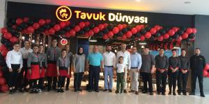 Tavuk Dünyası'nın Denizli'deki 2. restoranı  kapılarını Teras Park AVM'de açtı