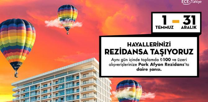 Park Afyon Hayallerinizi Rezidansa Taşıyor