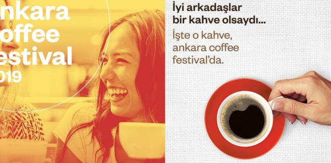 Ankara Coffee Festival Bilkent Center'da