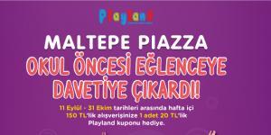 Maltepe Piazza AVM Çocukları Eğlenceye Davet Ediyor!