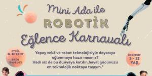 Marmara Forum'daki karnavalda çocuklara  Mini Ada öğretmenlik yapacak