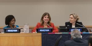 Gamze Cizreli Birleşmiş Milletler'de yaptığı konuşmayla gururlandırdı