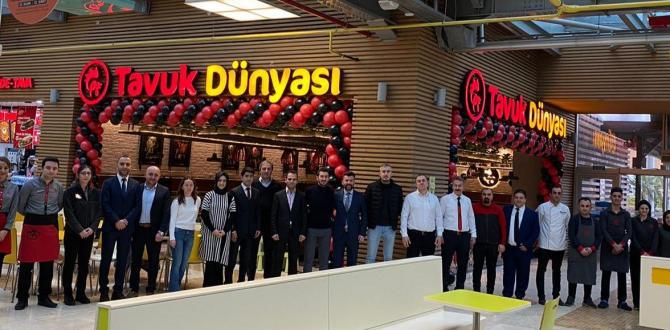 Şirketin Bursa yatırımları 2020'de de sürüyor… Tavuk Dünyası Bursa'daki 10. restoranını Anatolium AVM'de açtı