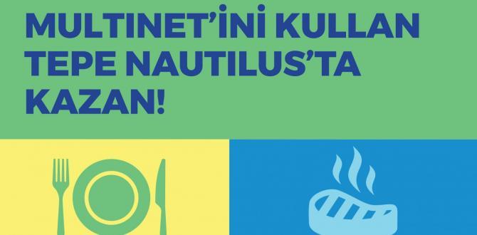 TEPE NAUTILUS MULTİNET İLE KAZANDIRIYOR