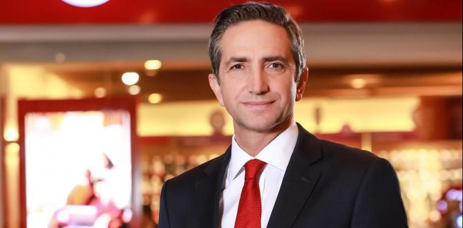 ENGİN AKSOY VODAFONE TÜRKİYE CEO'SU OLDU