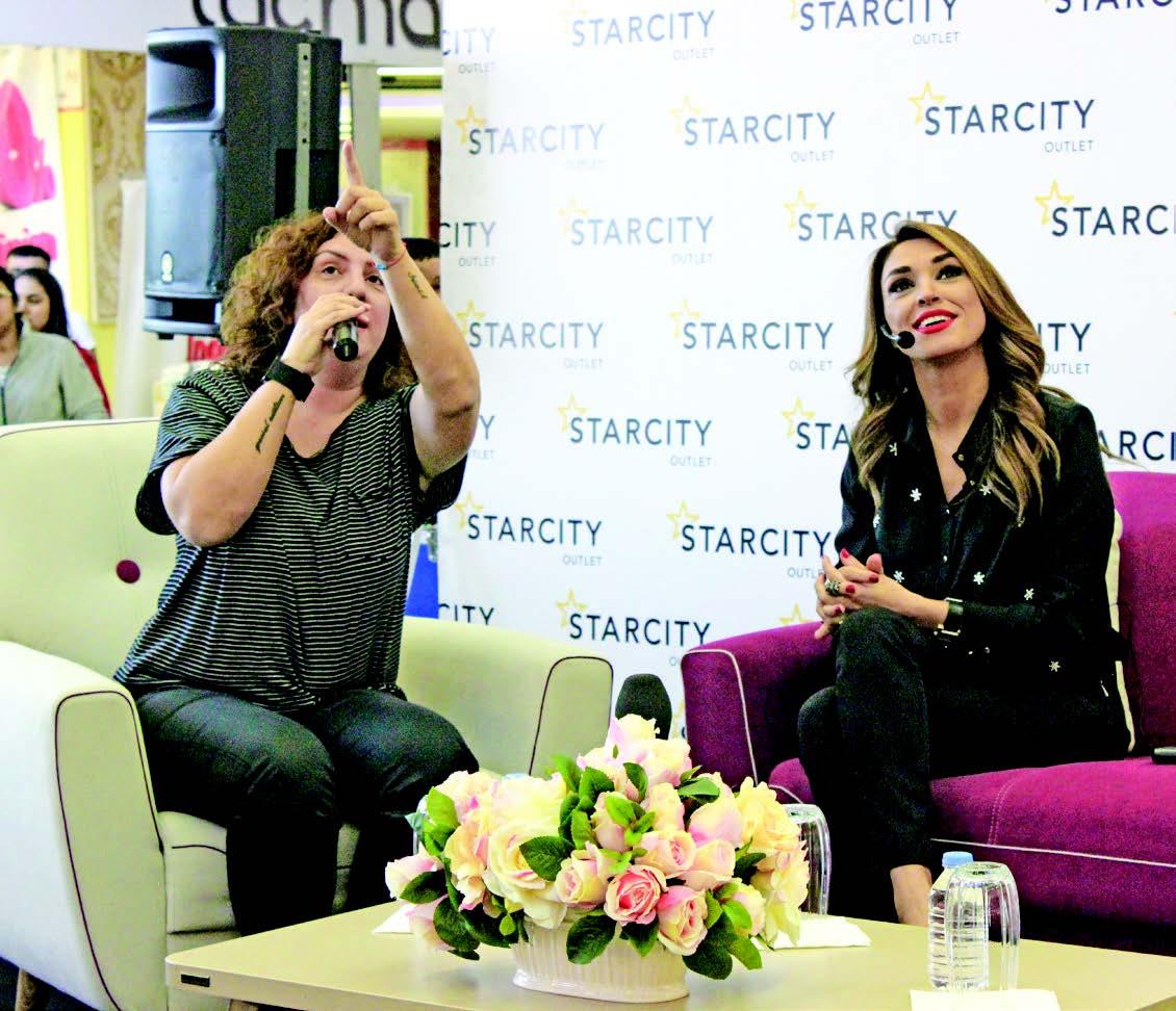 Starcity'de Alışveriş hakkında sohbetler