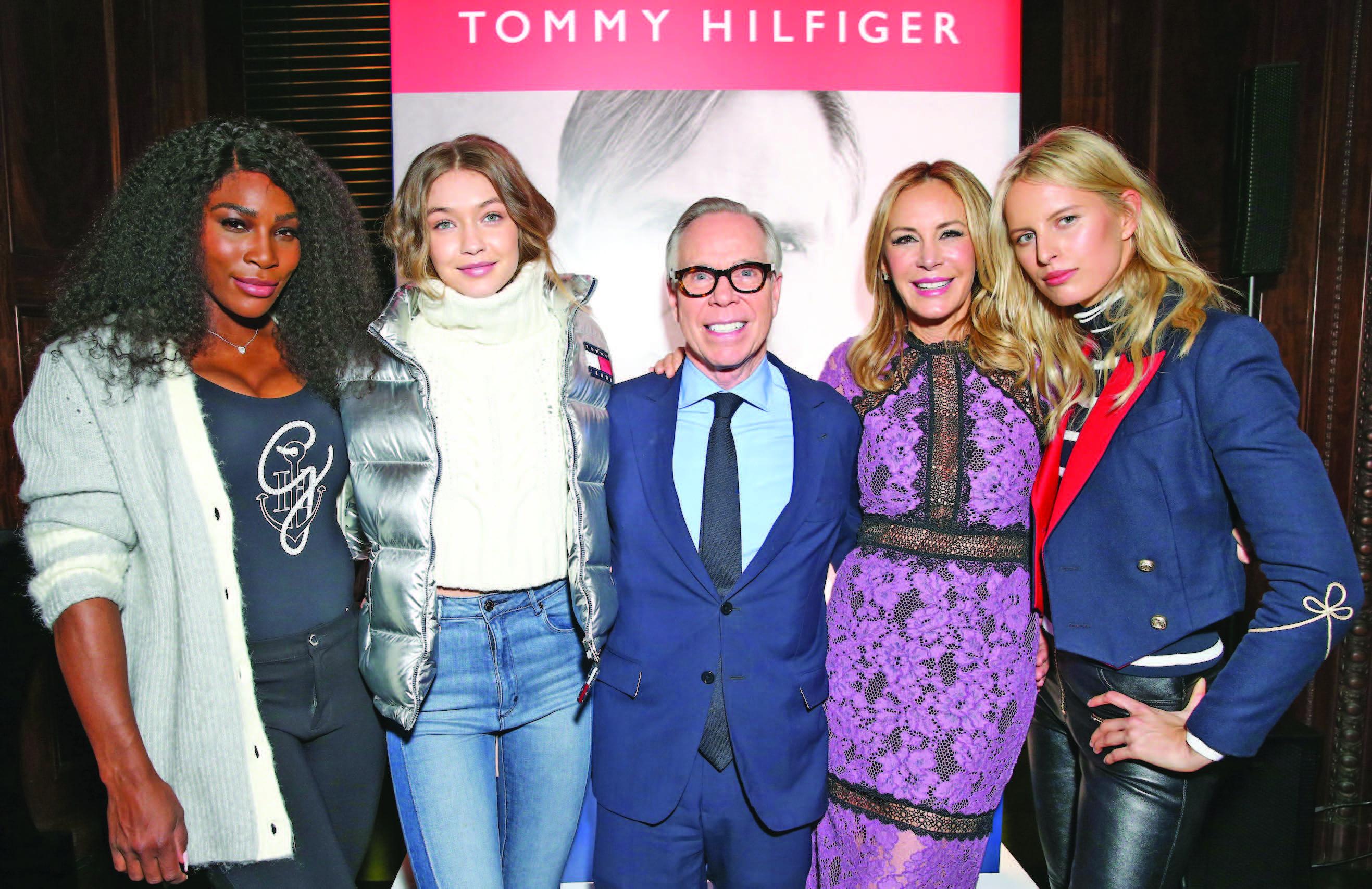 "Tommy Hilfiger, ""American Dreamer"" kitabını özel bir partide tanıttı."