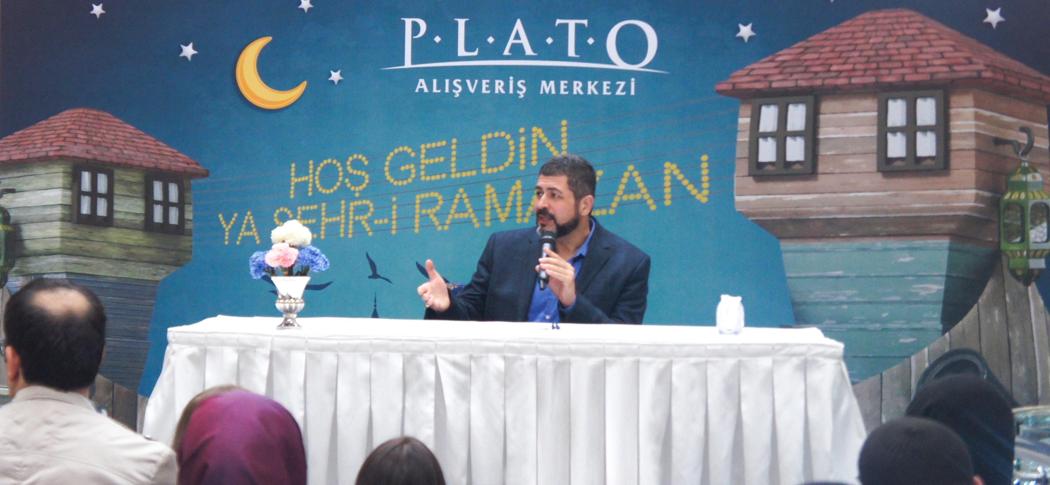 M. Fatih ÇITLAK Plato AVM'ye konuk oldu.