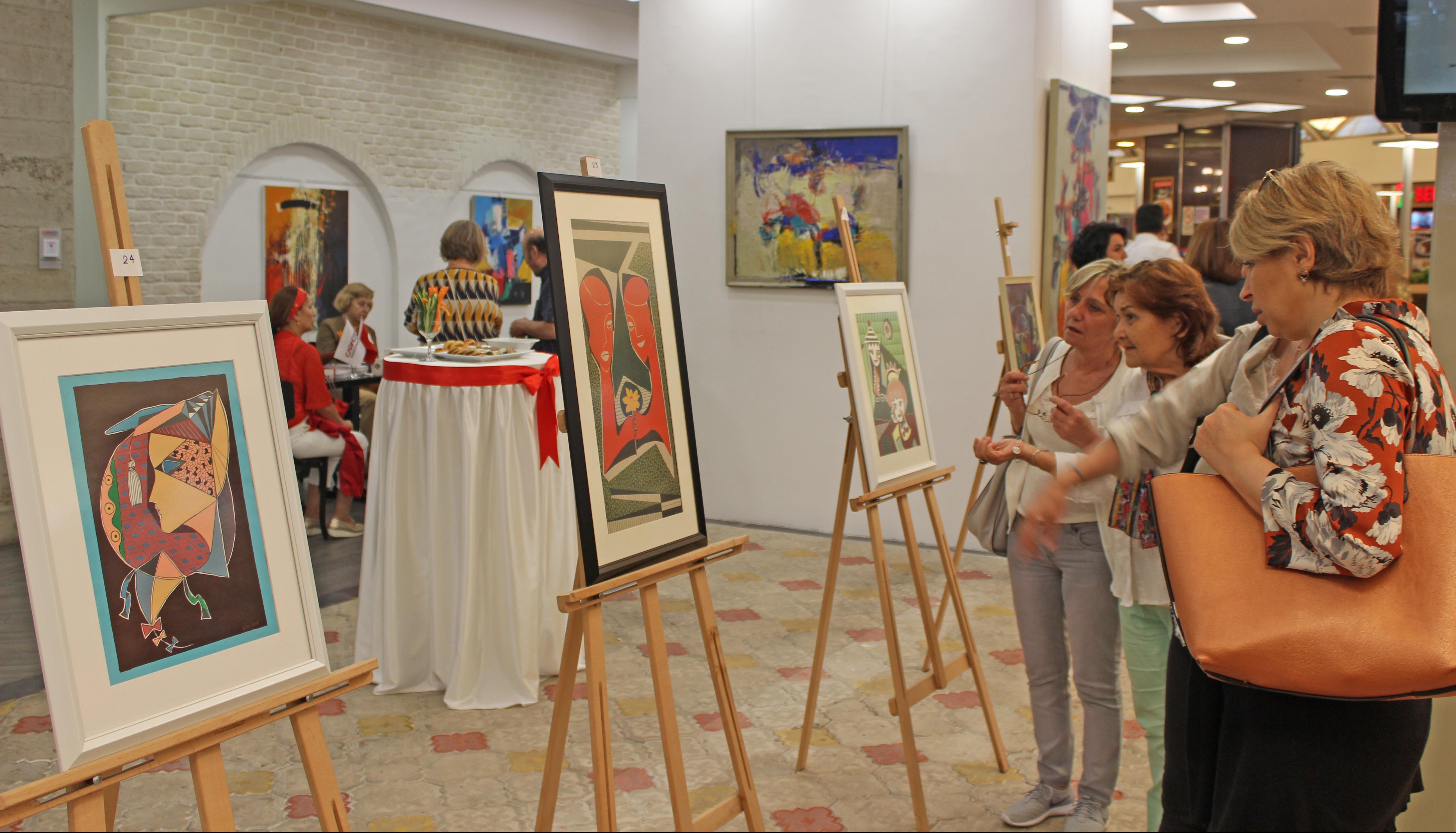 Sanat severler Resim Aşıkları'yla Capacity'de buluştu.