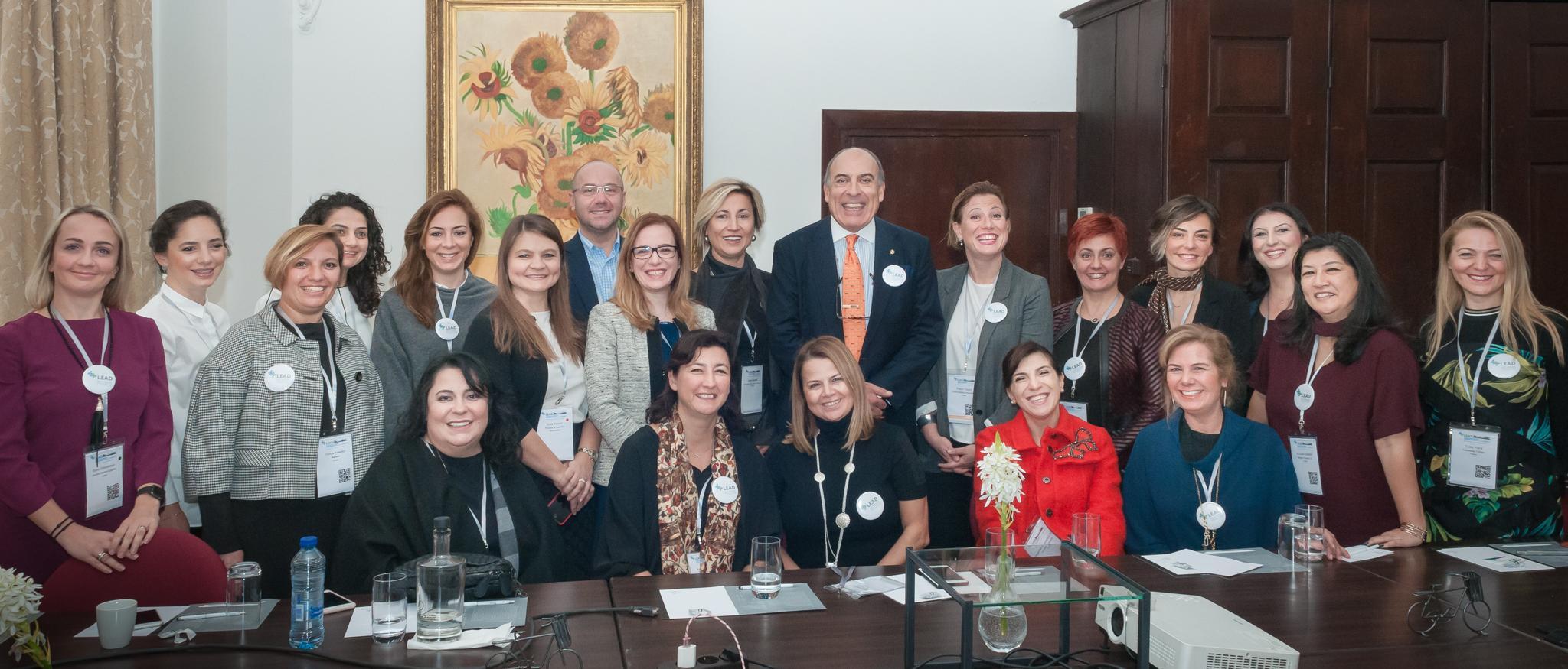 LEAD Network Türkiye Üyeleri Muhtar Kent ile Buluştu
