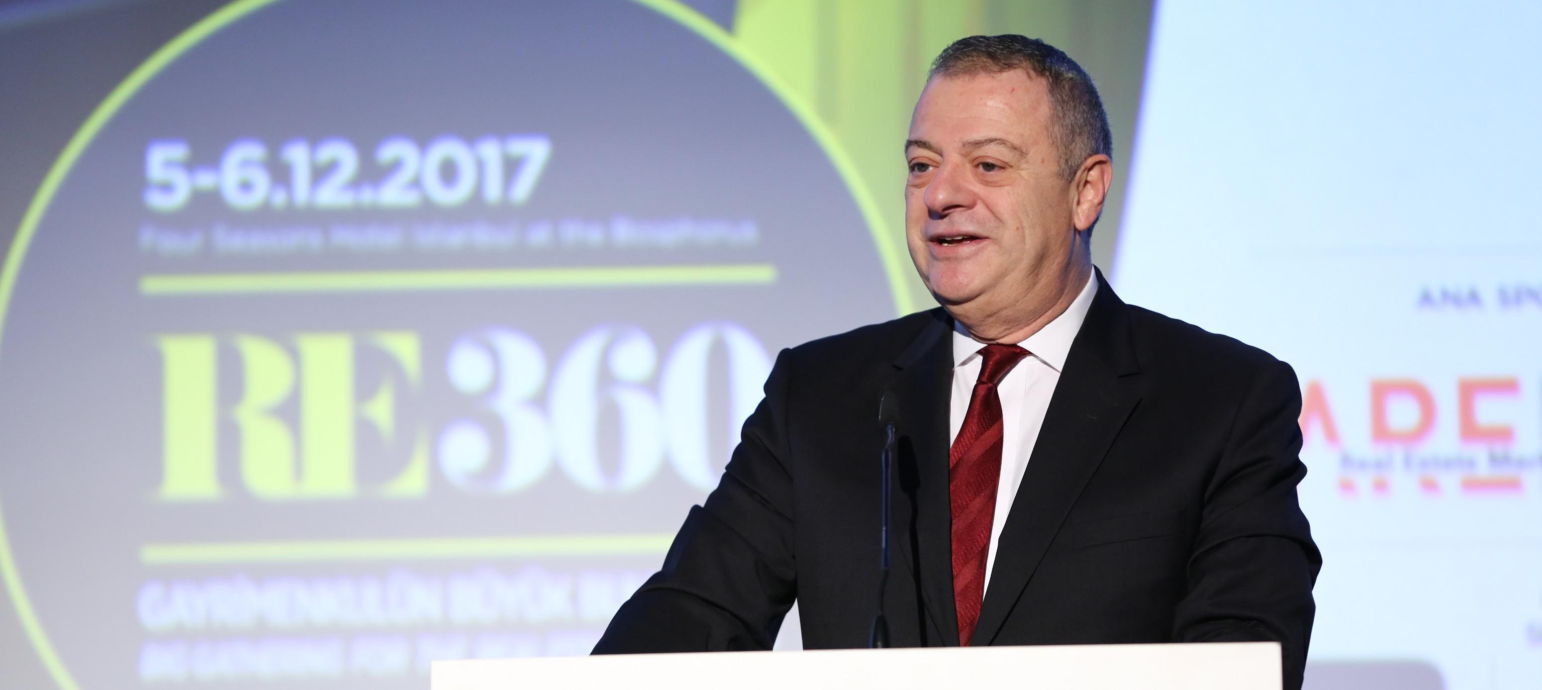 RE360'ta Gayrimenkul'ün Türkiye Liderlerinden Ve Dünyanın Yeni Oyununu Yazanlardan Çarpıcı Açıklamalar