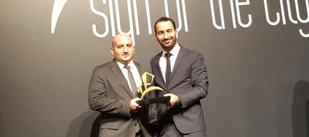 """Avlu Balıkesir """"Sign of the City Awards""""da ödül aldı."""