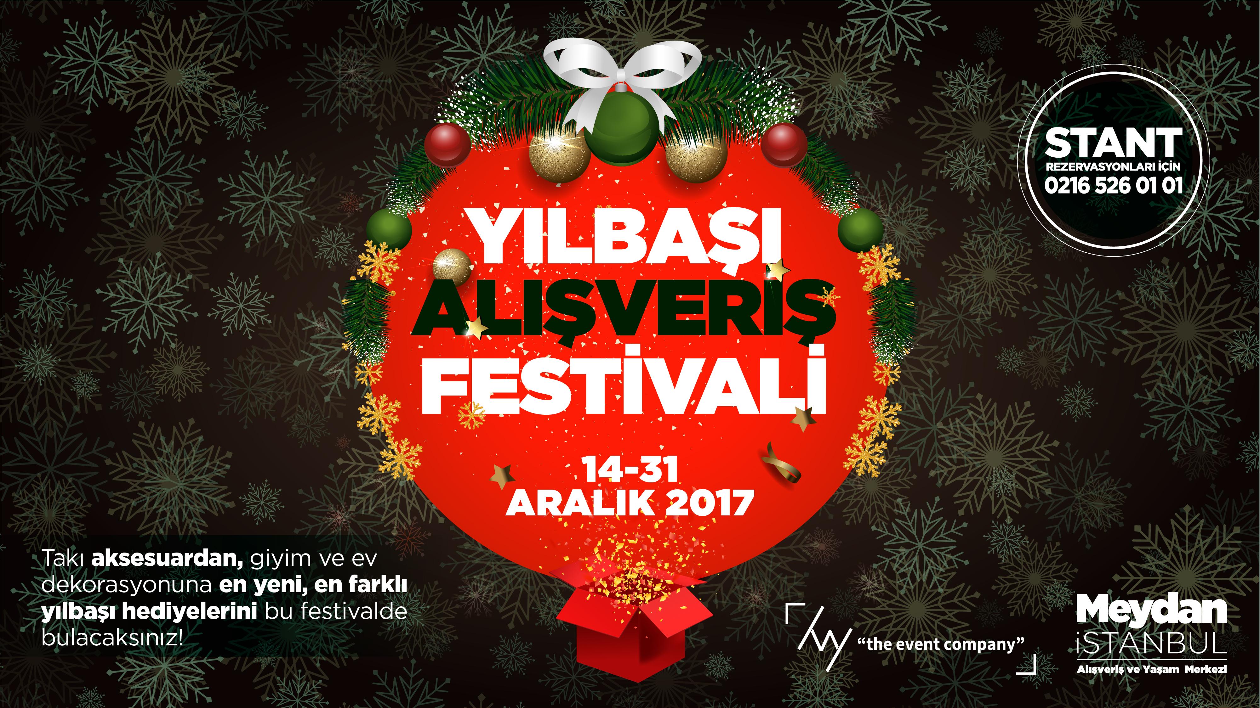 Yılbaşı Alışveriş Festivali Meydan İstanbul'da Başlıyor