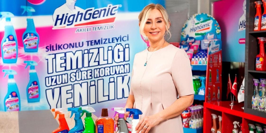 """HighGenic® Silikonlu Temizleyici """"Yılın En Yenilikçi Ürünü"""" seçildi"""