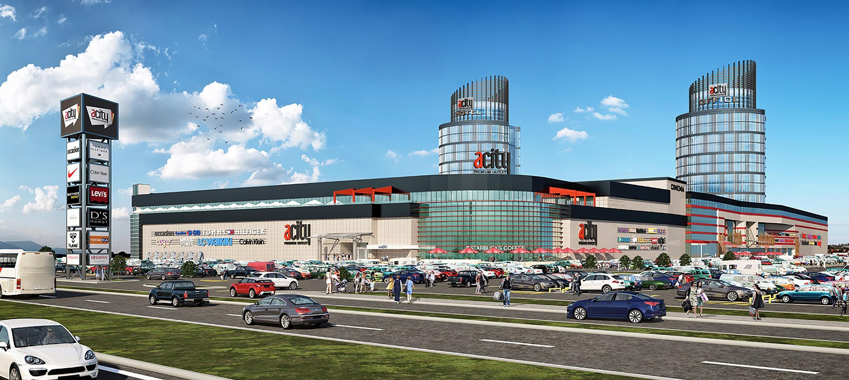 ECE Türkiye ve A1 Grup, başkentin outlet'i ACıty'i,  60 milyon dolarlık yatırımla büyütüyor