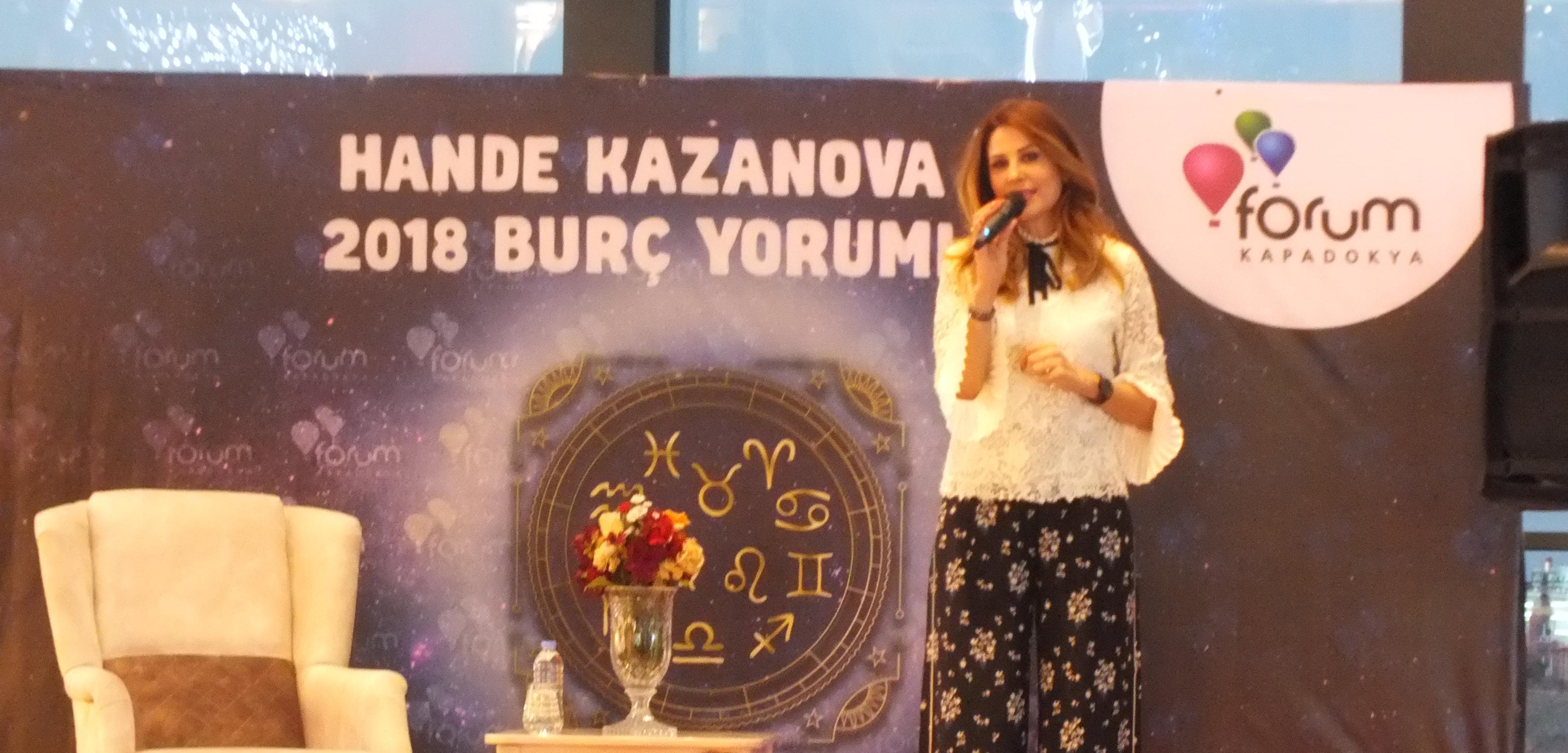 Astroloji Uzmanı Hande Kazanova Forum Kapadokya'da 2018'i Yorumladı
