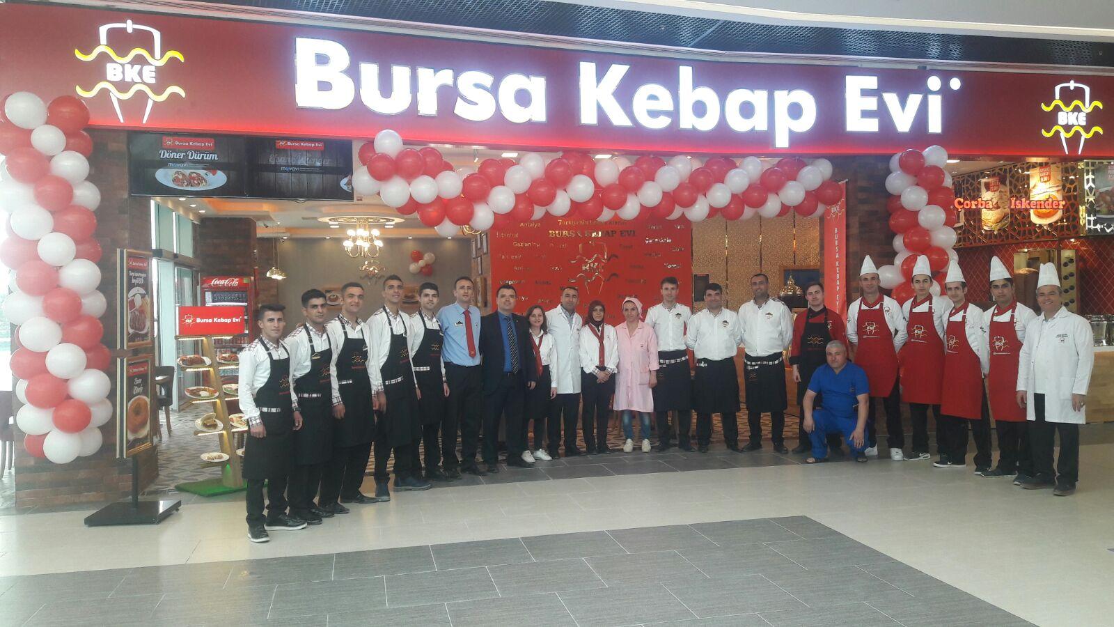 Bursa Kebap Evi 83. Şubesini Adıyaman Park Avm'de açtı!