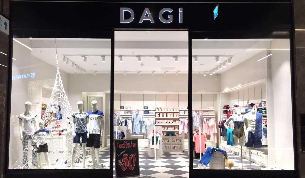 Dagi 2018 yılında 10 mağaza açmayı hedefliyor