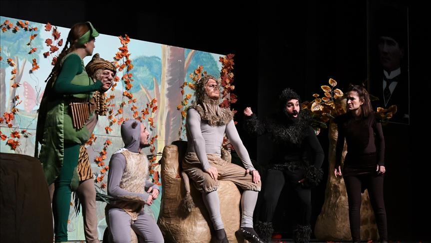 Bosch Çevre Çocuk Tiyatrosu Diyarbakırlı çocuklarla buluştu