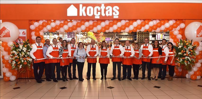 Koçtaş'ın yenilenen Cevahir mağazası açıldı