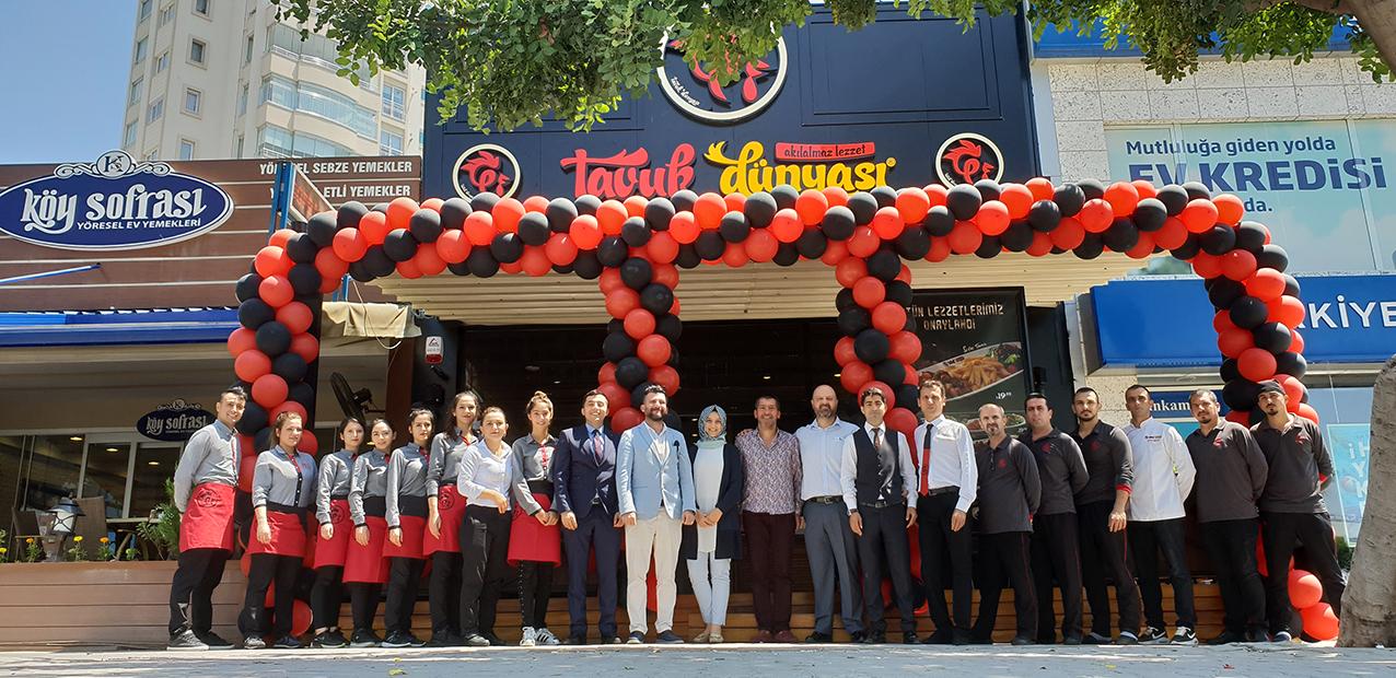 Tavuk Dünyası, Adana'daki restoranlarına bir yenisi daha ekledi.