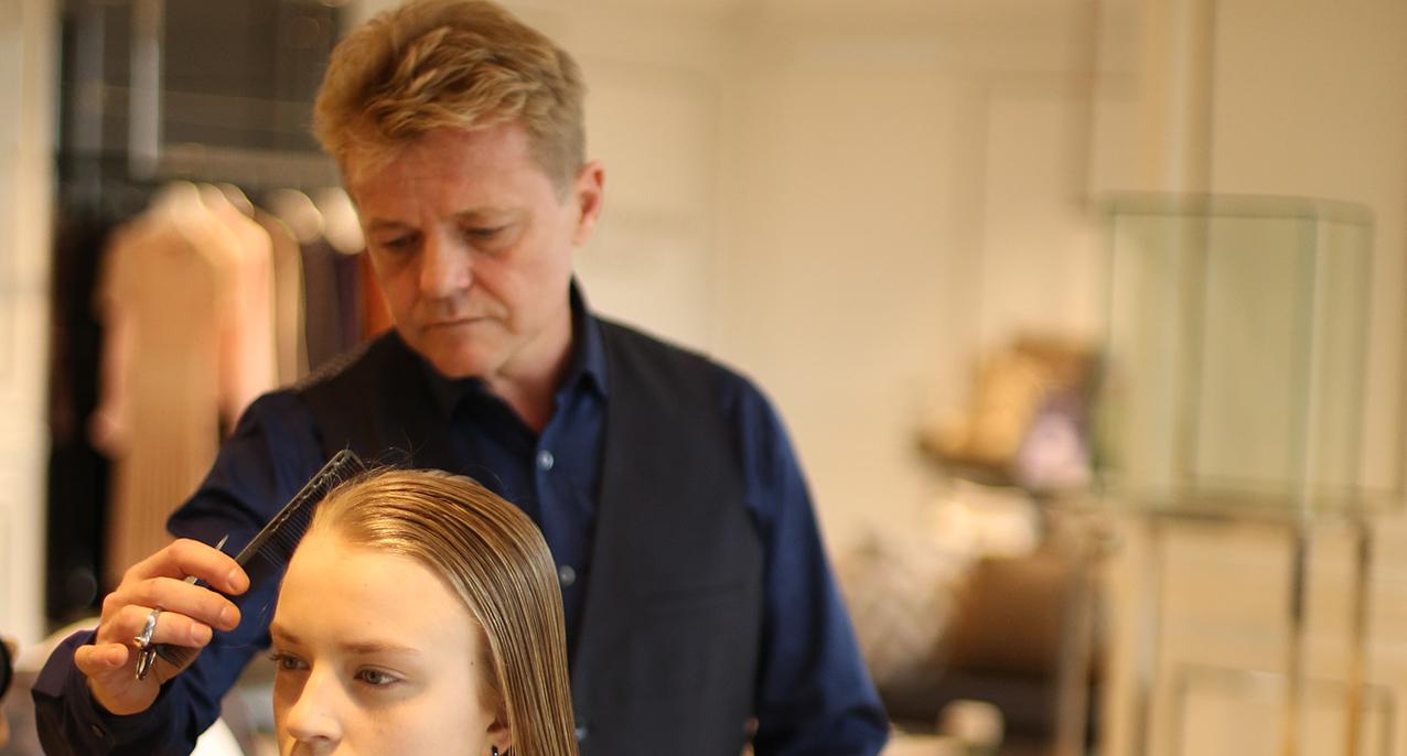 Saç Tasarımcısı Stephane Besson ile  Vakko Zorlu'da Kişiye Özel Uygulamalar