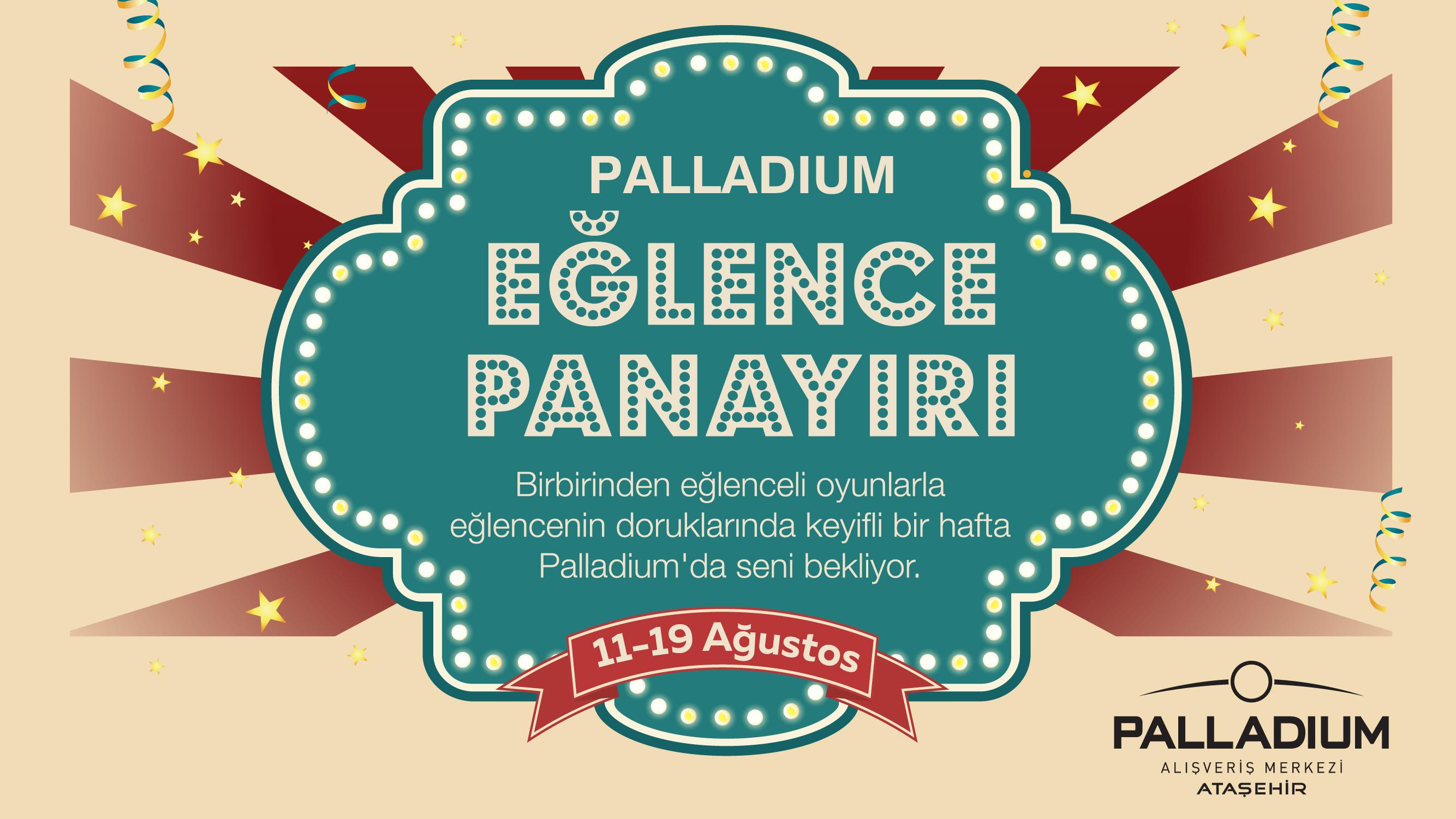Palladium Ataşehir'de Eğlence Panayırı Başlıyor