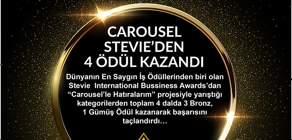 Carousel Avm Stevie'den 4 Ödül Kazandı…