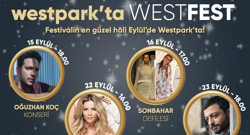 Yeni Sezona ve Şehre Merhaba Etkinlikleri Westpark'ta!