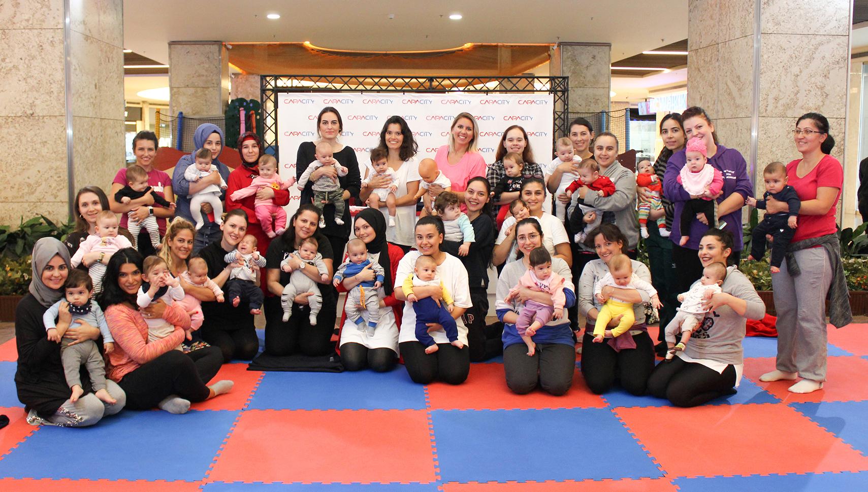Zeynep Gözübüyük ile Anne ve Bebekler Yogada Buluştu!