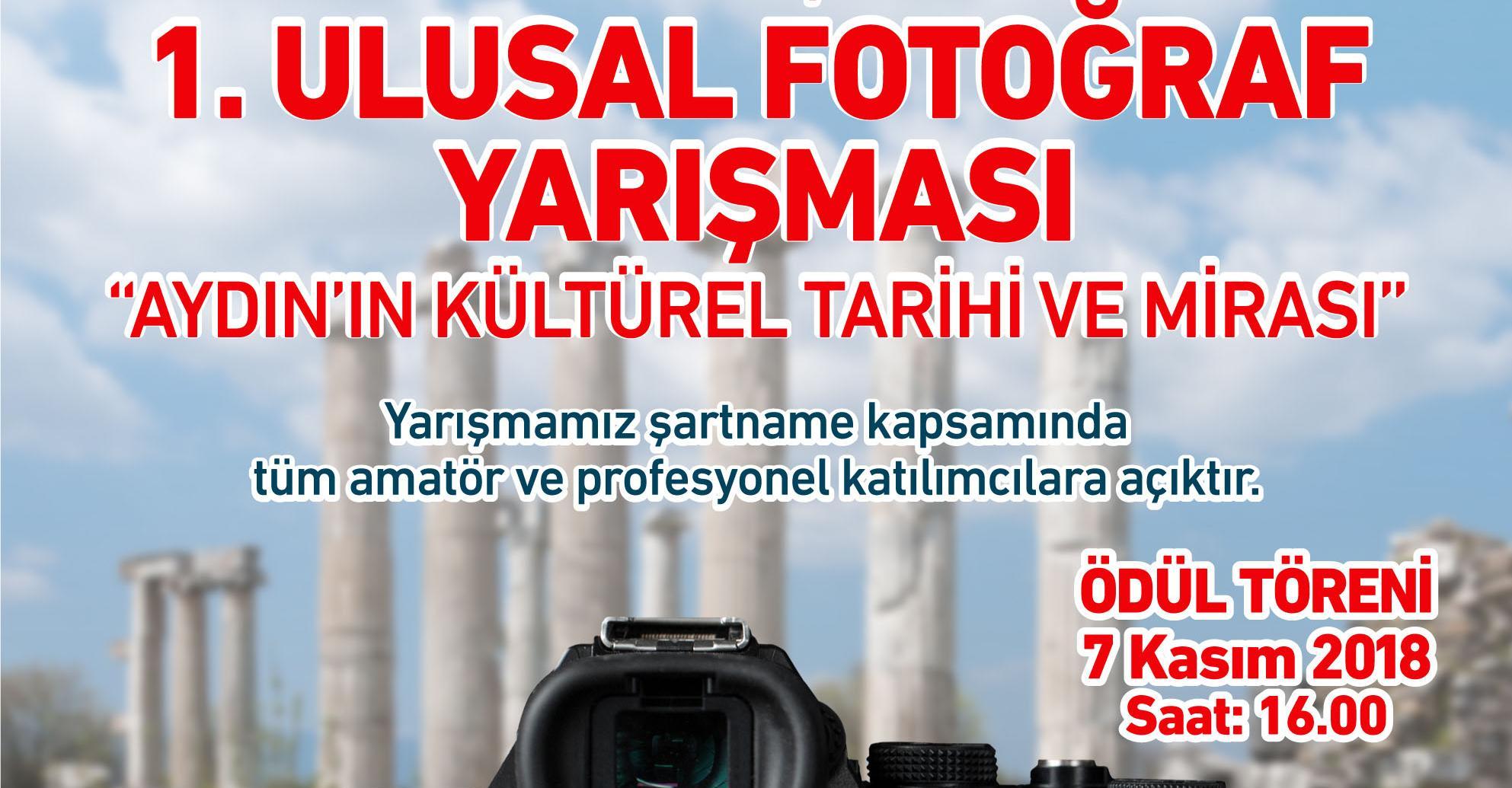 Forum Aydın'ın gerçekleştirdiği 1. Ulusal Fotoğraf Yarışması'nın başvuru süresi yoğun ilgi sebebiyle uzatıldı!
