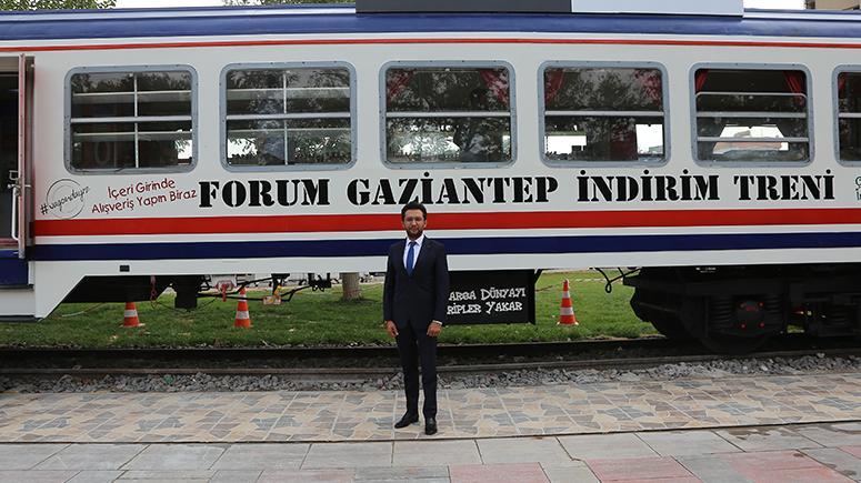 """Forum Gaziantep'ten Türkiye'de bir ilk: """"Vagon Mağaza"""""""