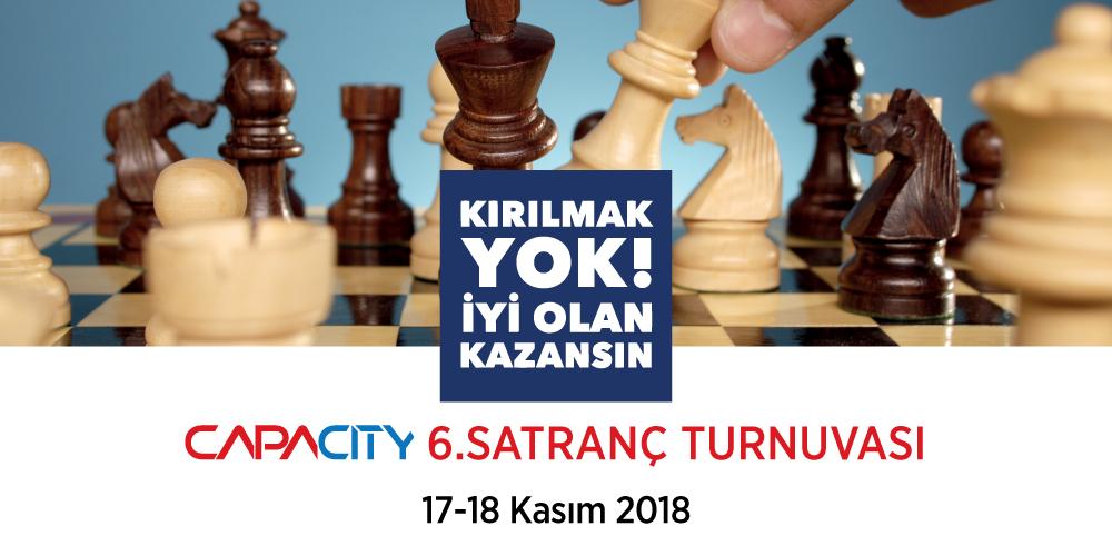 Capacity 6. Geleneksel Satranç Turnuvası başlıyor!
