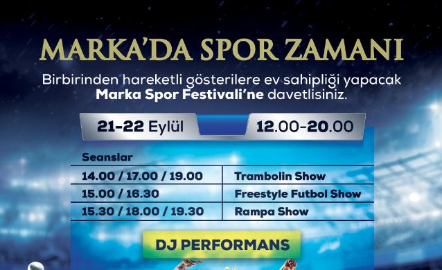 Sur Yapı Marka AVM'de spor festivali başlıyor