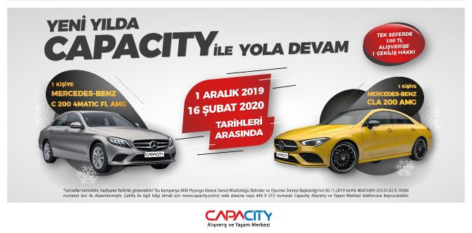 Capacity'nin Yeni Yıl Hediyesiyle Yola Devam!