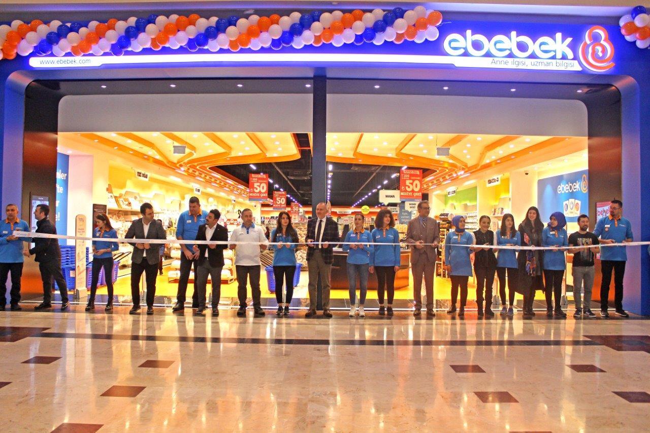 E- BEBEK, M1KONYA AVM'DE AÇILDI Özel etkinlikleri ve geniş marka karmasıyla Konya'nın yaşam merkezi M1Konya AVM, zengin marka karmasına E- Bebek'i de ekledi.