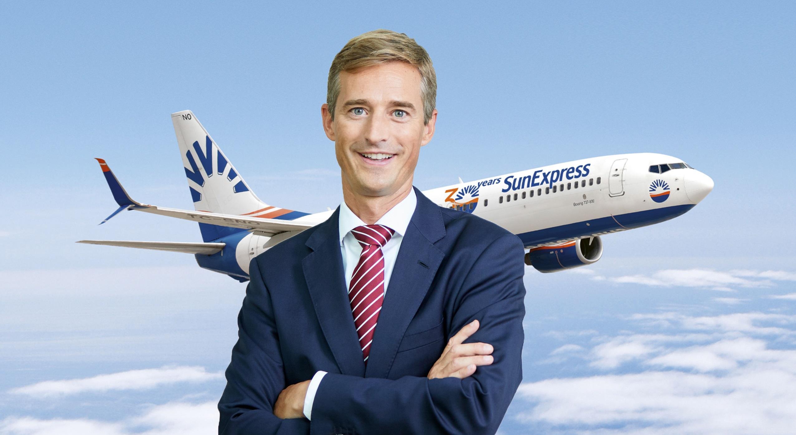 SunExpress'in yeni CEO'su Max Kownatzki bugün itibarıyla görevine başladı